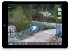 CCTV live view