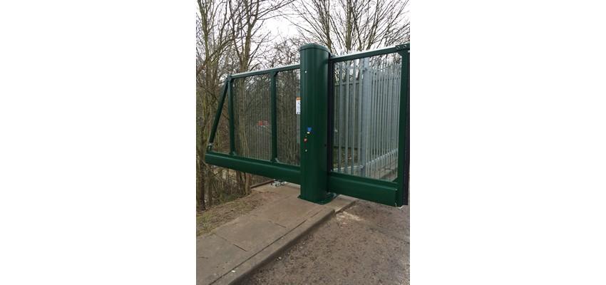Woode gates