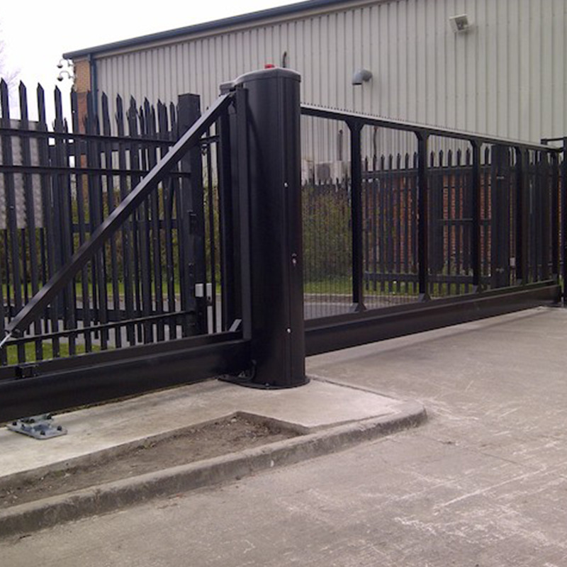 Gates for commercial properties