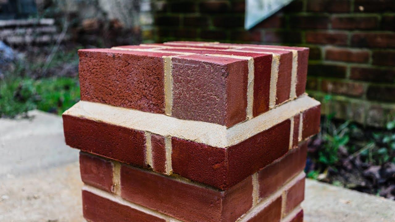 Brick pillar building in Hampshire